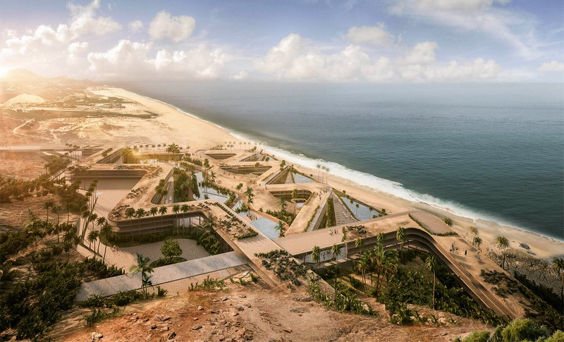 St Regis Los Cabos Resort Aerial