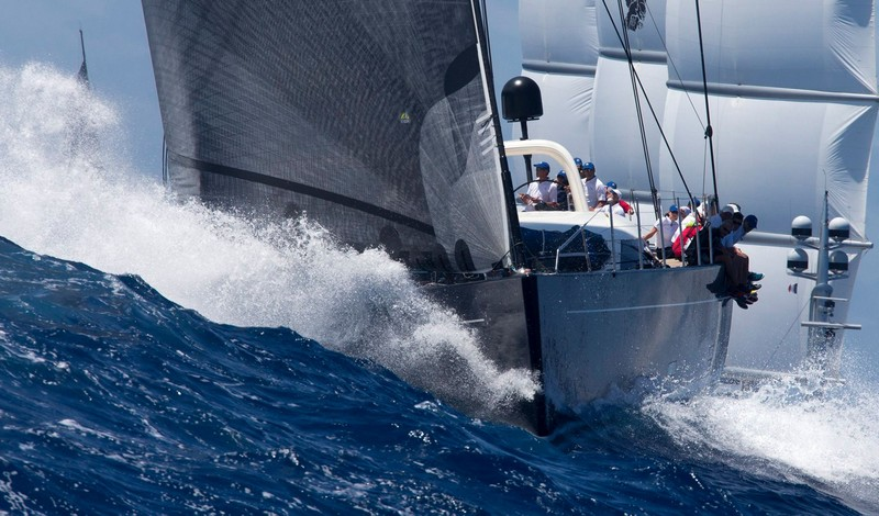 St.Barths Bucket Regatta sailing yachts