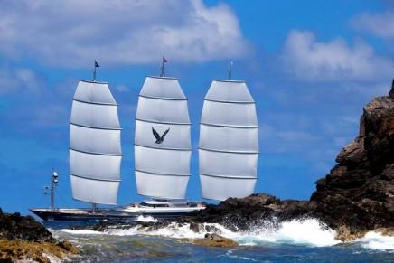 The world's premier superyacht sailing vessels reunited at 2017 St Barths Bucket Regatta