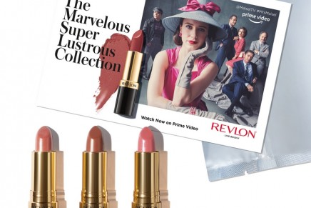 The Marvelous Mrs. Maisel inspired a Super Lustrous Lipstick