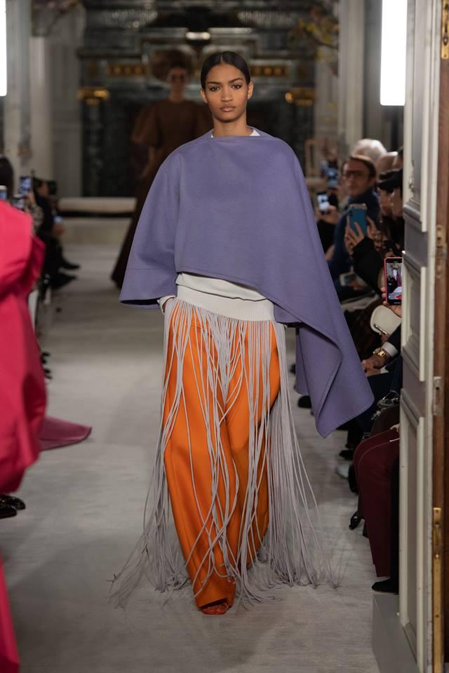 Stelizia Iris look - Valentino Haute Couture SS 2019