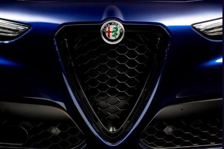 Staring is inevitable: Alfa Romeo Nero Edizione wraps Giulia and Stelvio SUV with seductive dark accents