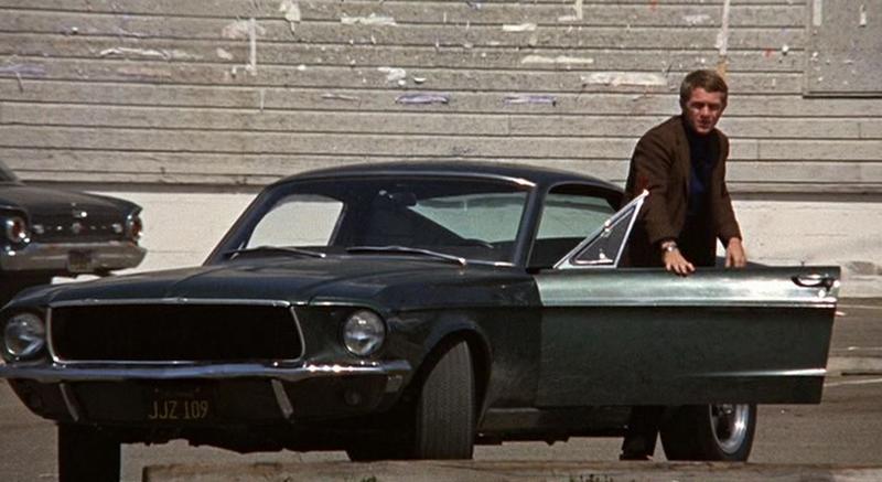 Steve McQueen The Bullit Ford Mustang