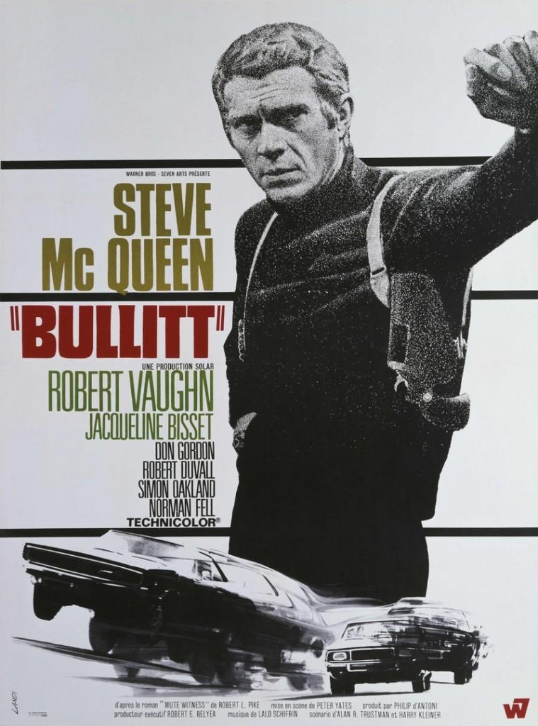 Steve McQueen The Bullit poster