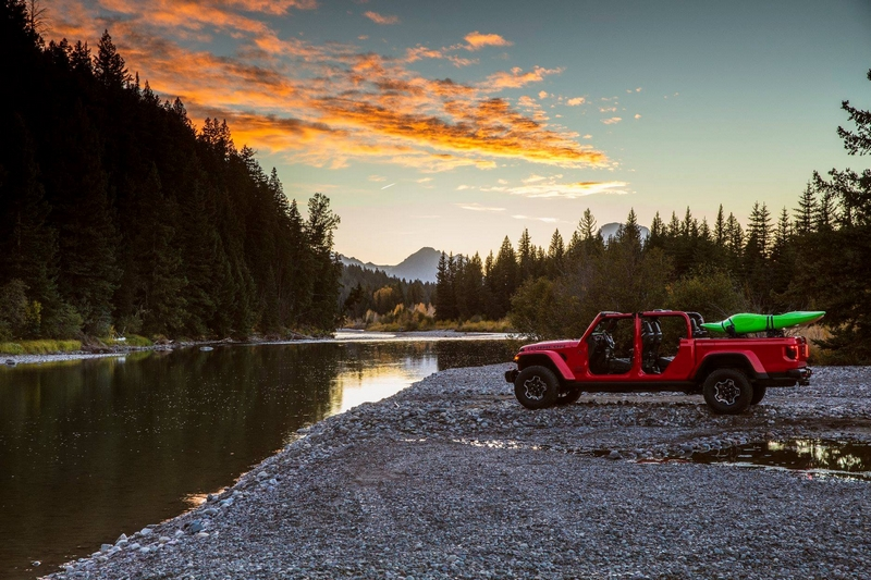 Street to stream, the all-new 2020 Jeep® Gladiator has what it takes to go wherever adventure takes you