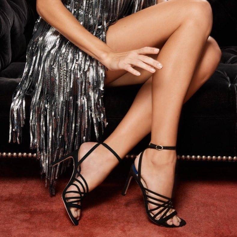 Stuart Weitzman always knows the shoe to a girl's heart