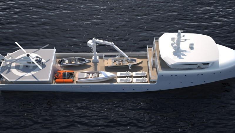Submarine Support Vessel