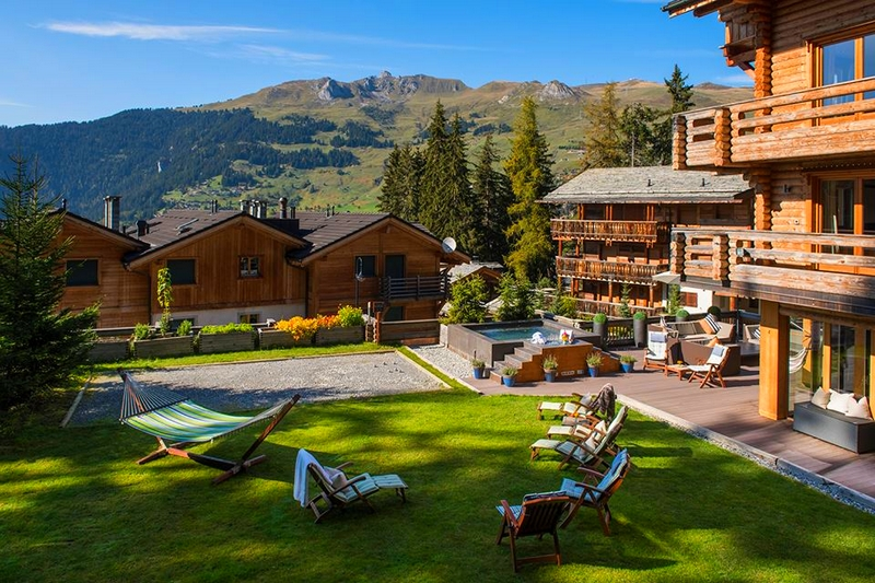 Summer of Sustainability at The Lodge in Verbier -Thinking of summer..