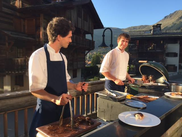 Summer of Sustainability at The Lodge in Verbier - cuisine