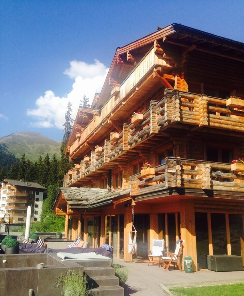 Summer of Sustainability at The Lodge in Verbier - summertime ready