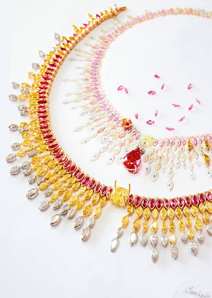 Sunlight journey, a Piaget high jewellery collection-