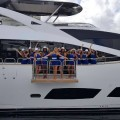 SunseekerOnShow at For Lauderdale International Boat Show 2015