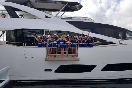 Sunseeker announces its 100th luxury performance yacht in the 100ft+ category