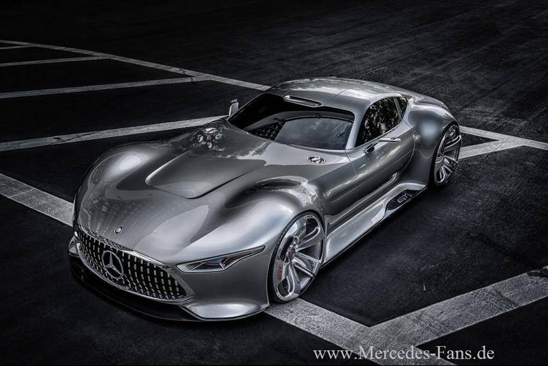 -Super Heroes drive Mercedes-Benz.