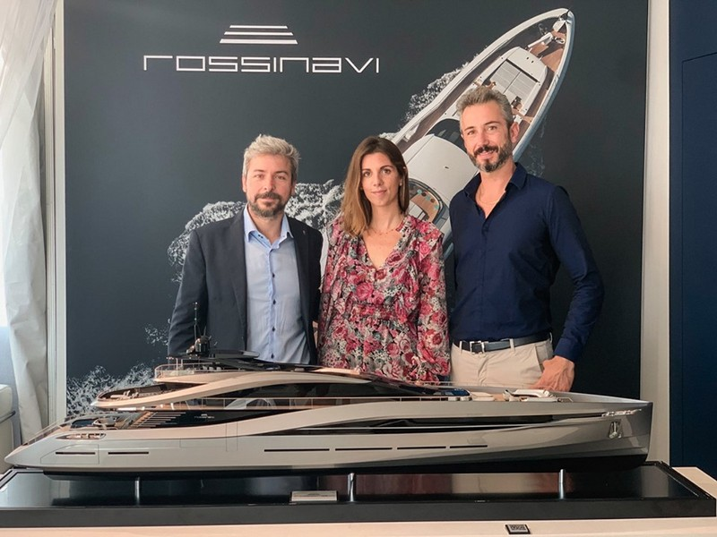 Super Sport 65, a new masterpiece by Pininfarina and Rossinavi finally unveiled today during Fort Lauderdale International Boat Show