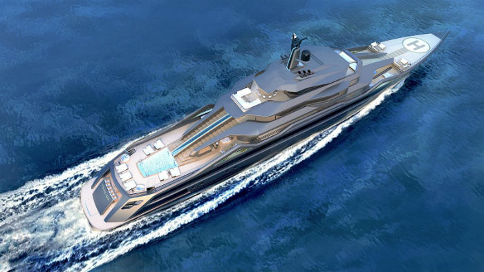 SuperYachtsMonaco are delighted to be working with Roberto Curtó of RC Designs on his new 101m motor yacht concept-