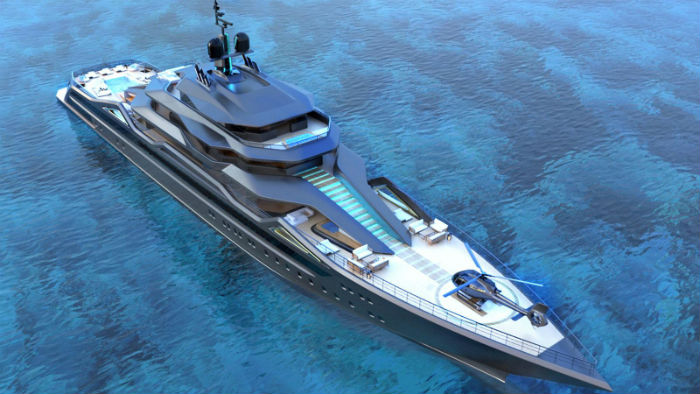 SuperYachtsMonaco are delighted to be working with Roberto Curtó of RC Designs on his new 101m motor yacht concept-2017