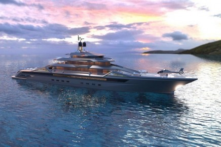 100 meters plus market arena: Roberto Curtó reveals 101m Fincantieri superyacht concept Mauna Kea