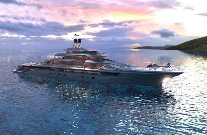 SuperYachtsMonaco is working with Roberto Curtó of RC Designs on his new 101m motor yacht concept