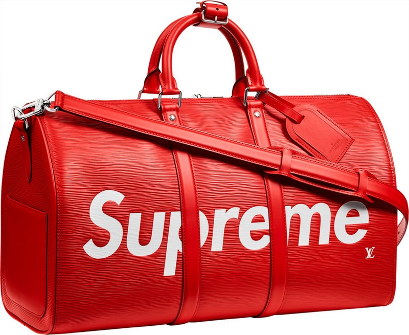 Supreme Catchall 45 duffle bag, which will featured by the ElbiDrop
