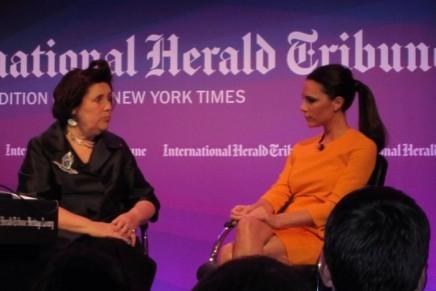 Suzy Menkes leaves International Herald Tribune for Vogue
