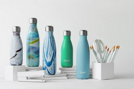 How reusable water bottles became the new tote bag