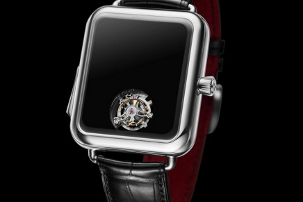 H. Moser & Cie. is taking signature minimalism to a whole new level with the Swiss Alp Watch Concept Black