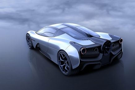 Gearing up for the ultimate driver's car: T.50 is the lightest ever supercar