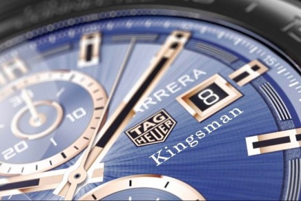 TAG Heuer Connected Modular 45 Kingsman Special Edition Sold Exclusively on Mr.Porter