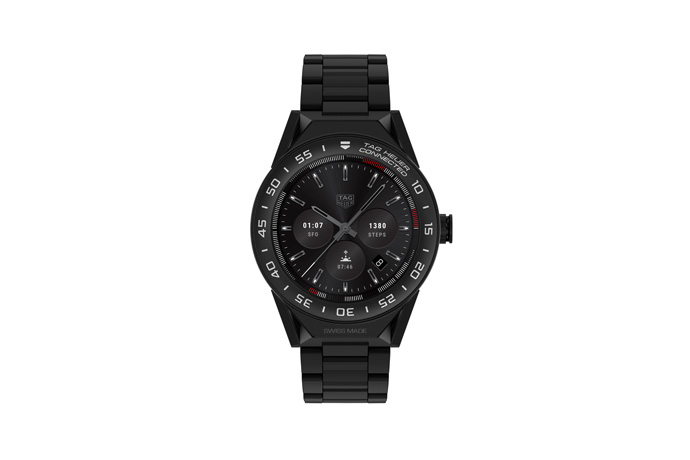 TAG Heuer Connected Modular 45, a versatile luxury connected watch