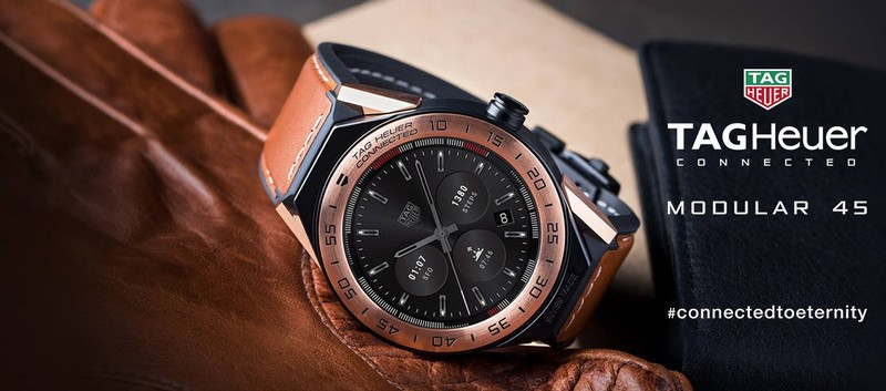 TAG Heuer Connected Modular 45 luxury watch 2017 edition