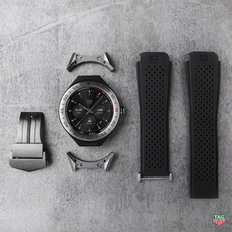 TAG Heuer Connected Modular 45 luxury watch event-