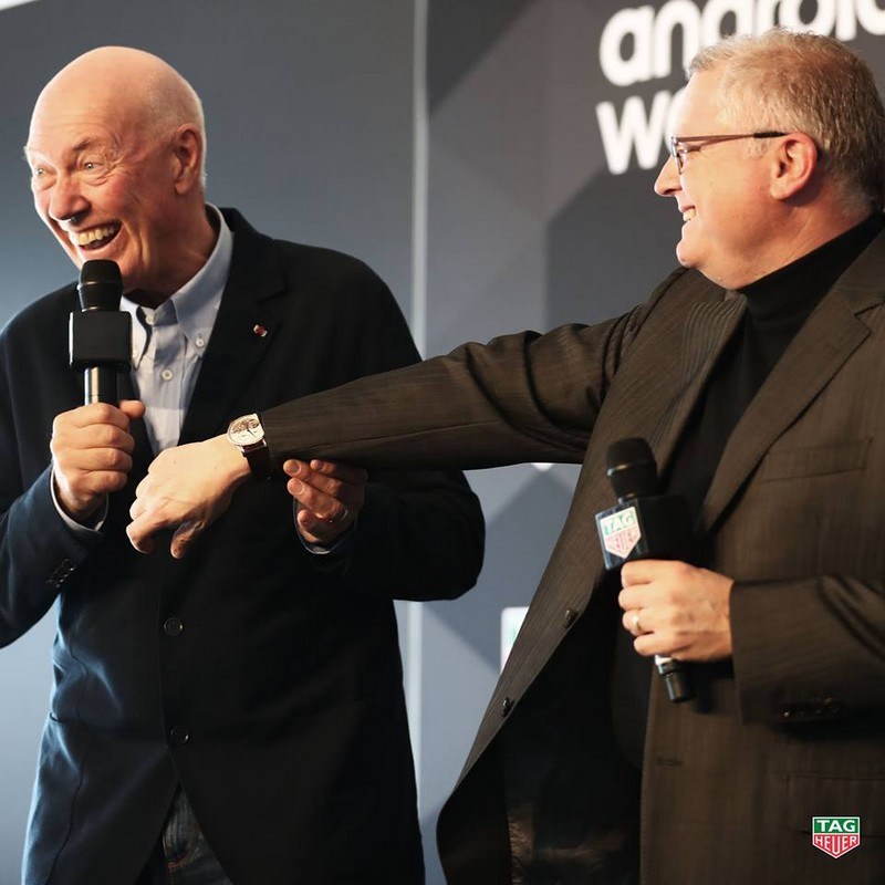 TAG Heuer Connected Modular 45 luxury watch event