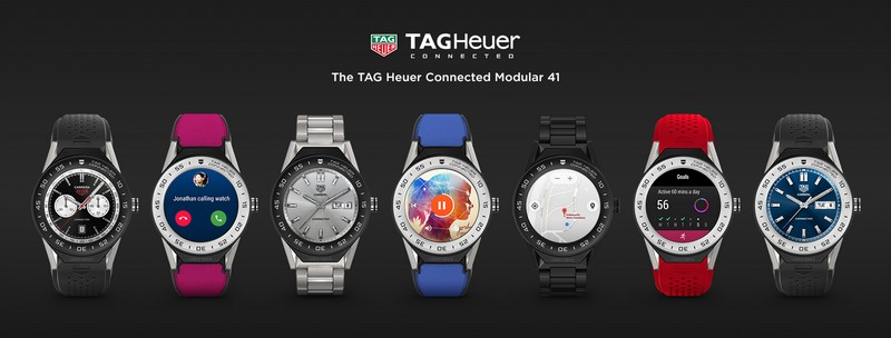 TAG Heuer Cycle for Survival Connected Modular 45 watch