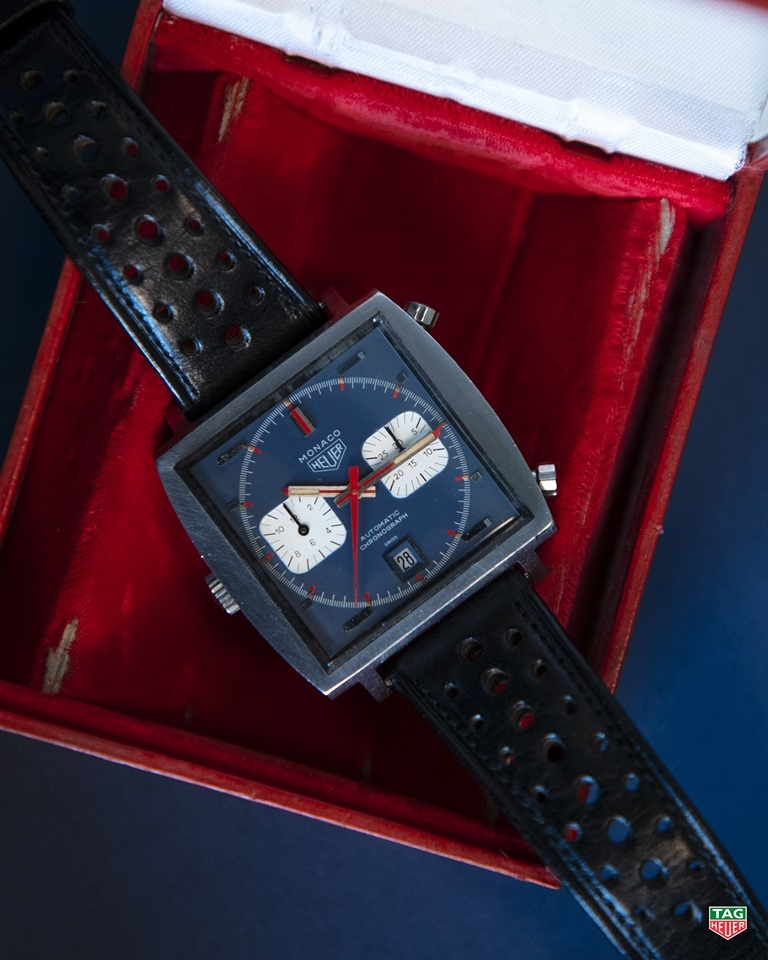 TAG Heuer celebrated 50th anniversary of Monaco watch at Monaco Formula 1 Grand Prix-