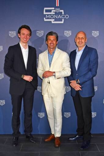 TAG Heuer celebrated 50th anniversary of Monaco watch at Monaco Formula 1 Grand Prix 2019