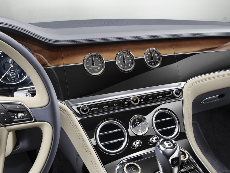 THE ALL-NEW BENTLEY CONTINENTAL GT – LUXURY GRAND TOURING - details