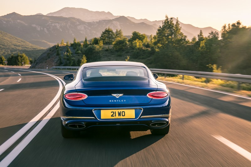 THE ALL-NEW BENTLEY CONTINENTAL GT – THE DEFINITION OF LUXURY GRAND TOURING - rear