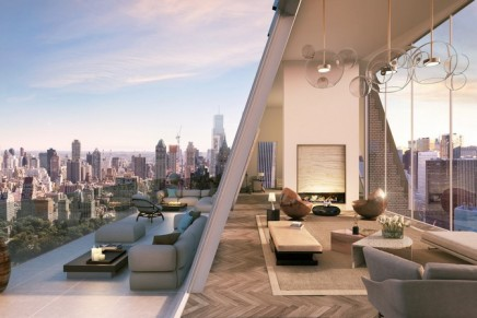 This Penthouse offers completely unobstructed and unparalleled views at the centerline of Central Park
