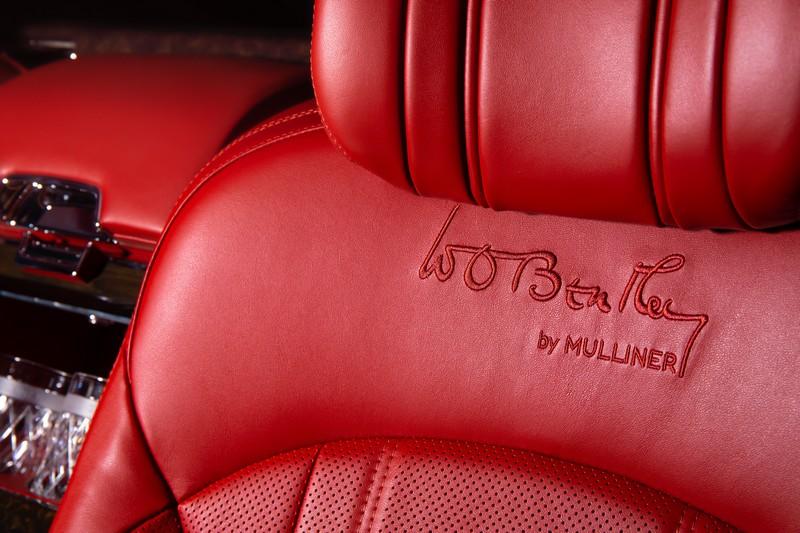 THE MULSANNE W.O. EDITION BY MULLINER MARKS AN EXTRAORDINARY MILESTONE-