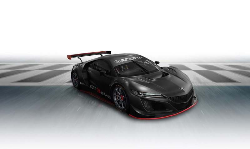 THE NSX GT3 RACECAR WAS ALWAYS PART OF THE PLAN