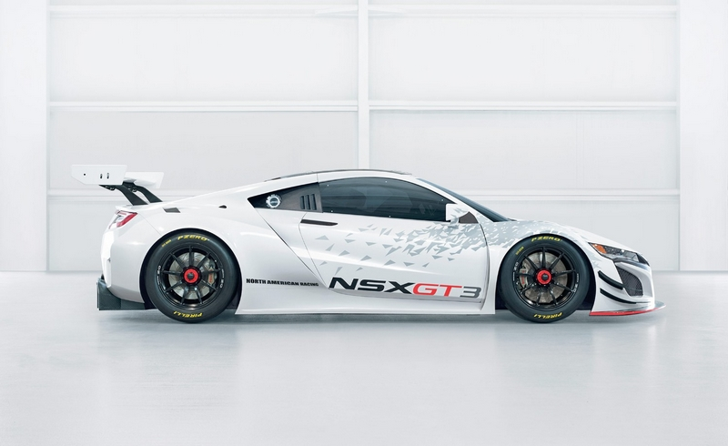 THE NSX GT3 RACECAR