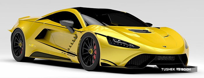 TUSHEK TS900 H, a hybrid hypercar like no other