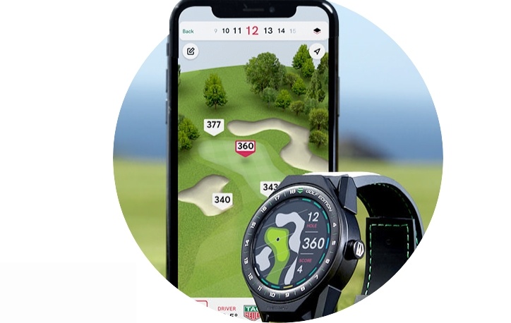 Tag Heuer Golf App and Watch 2019-