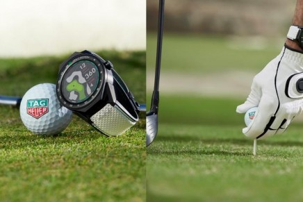 The ultimate watch and app for all golfers: Track and improve your game with TAG Heuer Golf