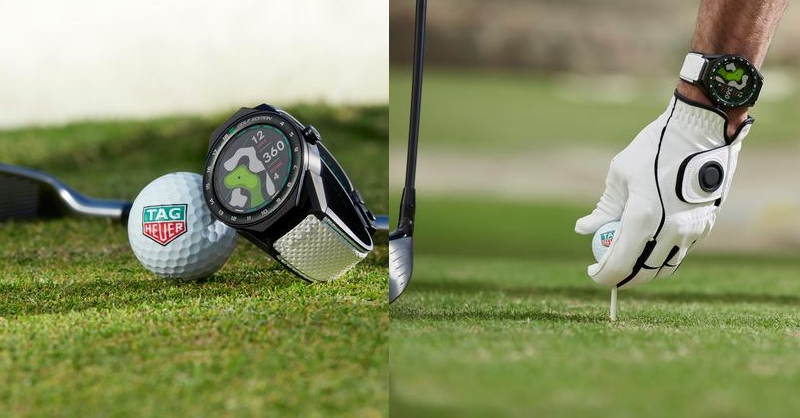 Tag Heuer Golf App and Watch 2019- TAG Heuer Connected Modular 45 Golf Edition