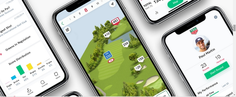 Tag Heuer Golf App and Watch 2019