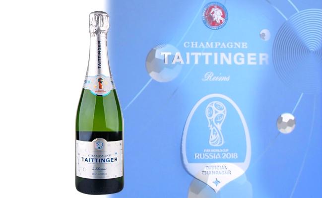 Taittinger x 2018 FIFA Champagner Brut Réserve bottle