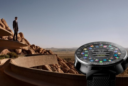 Tambour Horizon – the first connected watch from Louis Vuitton beckons you to explore the world