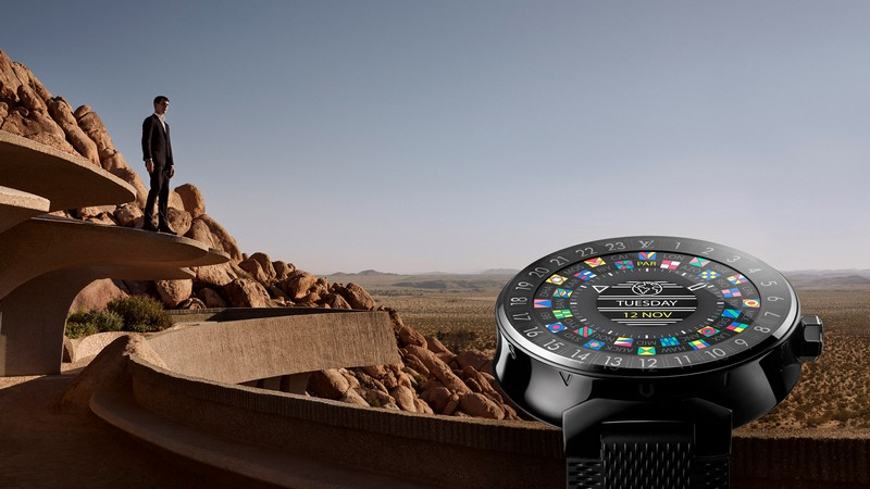 Take a journey and explore the Louis Vuitton Tambour Horizon Connected Watch-